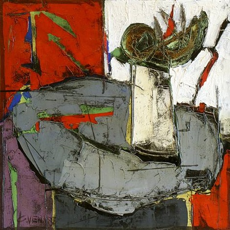 nature morte [sold] by claude venard